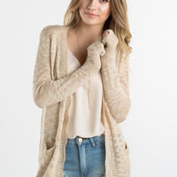Rachel Cream Knit Cardigan