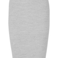 James Perse - Ribbed stretch-cotton skirt