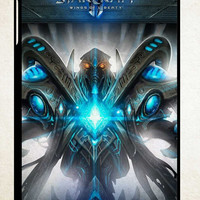 Star Craft II Wings of Liberty Z0875 iPad 2 3 4, iPad Mini 1 2 3, iPad Air 1 2 , Galaxy Tab 1 2 3, Galaxy Note 8.0 Cases