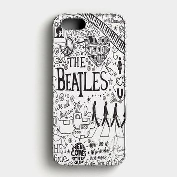 Personalized The Beatles iPhone SE Case
