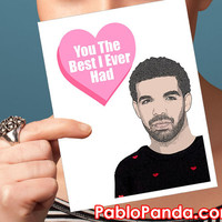 Drake Valentines Day Card | funny valentine card valentines card valentine card valentines for him anniversary card naughty valentines card