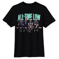 All Time Low Bench Press Unisex Slim Black Tee