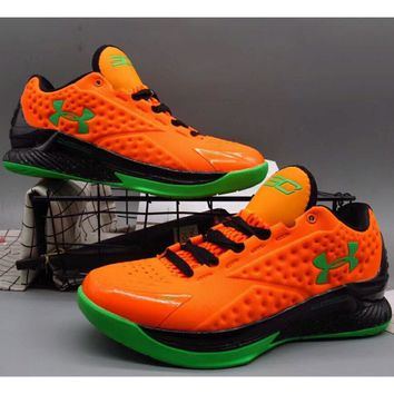Under Armour Curry 1 Generation SC Basketball Boots F-A36H-MY Or 3be9ff0ec