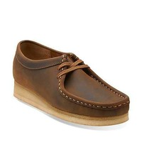 Wallabee-Women in Beeswax Leather - Womens Shoes from Clarks