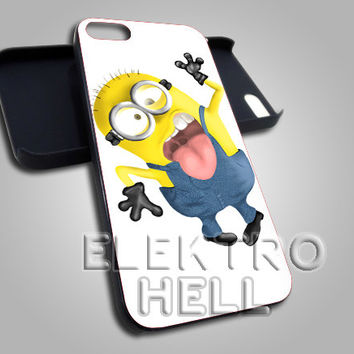 Despicable me minions - iPhone 4/4s/5 Case - Samsung Galaxy S3/S4 Case - Black or White