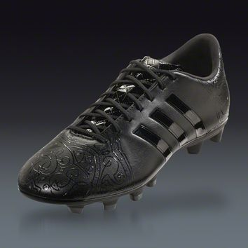 adidas 11Pro FG - Black Pack Firm Ground Soccer Shoes