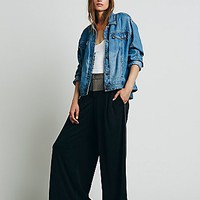 Free People Womens Star Sporty Wideleg
