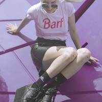 Barf Barbie Women's Casual T-Shirt