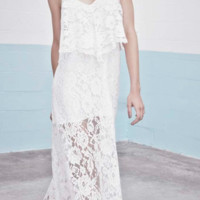 Alexis 'Blake White Lace Dress' Dresses |Shop Splash