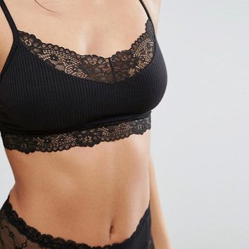 Monki Soft Bra at asos.com
