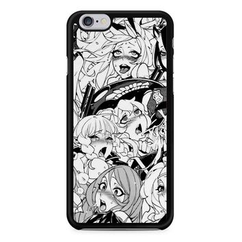 Ahegao Pervert Manga iPhone 6/6s Case