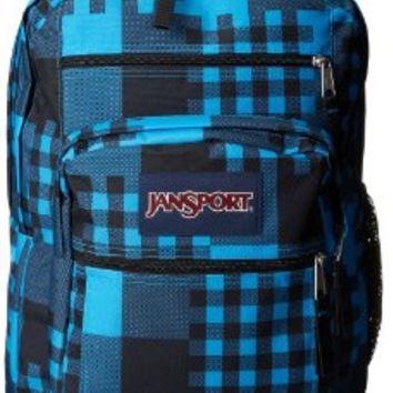 JanSport Big Student Backpack, Swedish Blue Cross Block:Amazon:Sports & Outdoors