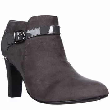 KS35 Nikie Ankle Booties, Grey, 8 US