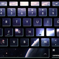 Nebula stickers  keyboard decal MacBook decal MacBook air sticker MacBook pro decal J-016