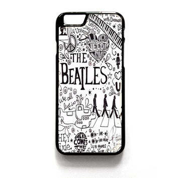 Personalized The Beatles iPhone 4 4S 5 5S 5C 6 6 Plus , iPod 4 5  , Samsung Galaxy S3 S4 S5 Note 3 Note 4 , and HTC One X M7 M8 Case