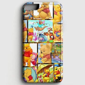 Winnie The Pooh And Friends Pattern iPhone 6 Plus/6S Plus Case | casescraft