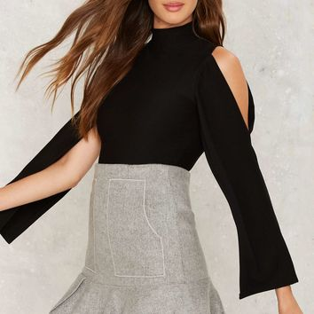 Cape a Secret Cut-Out Top