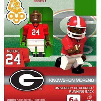 KNOWSHON MORENO GEORGIA BULLDOGS OYO MINIFIGURE BRAND NEW  SHIPPING
