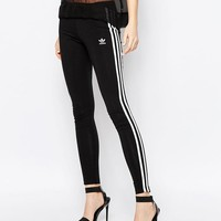 Adidas | adidas Originals Adicolour Leggings With 3 Stripe at ASOS