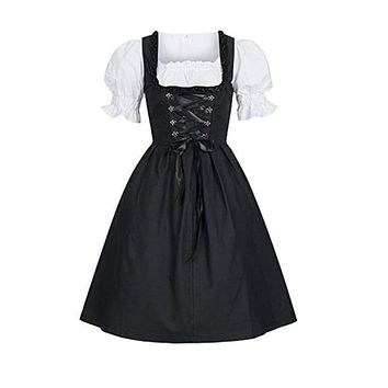 Plus Size 4XL Women Ladies Oktoberfest Costumes Beer Maid Authentic German Dirndl Oktoberfest Party Halloween Dress Vestidos Macchar Cosplay Catalogue