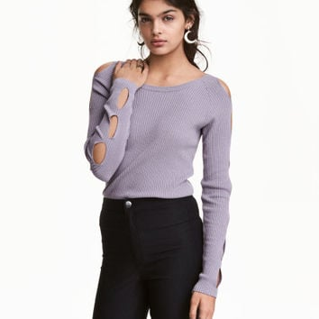 Cut-out Sweater - from H&M