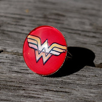 Wonder Woman - adjustable ring