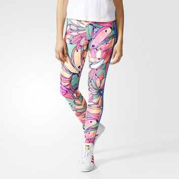 """Adidas"" Fashion Print Pattern Exercise Fitness Gym Yoga Running Leggings Sweatpants"