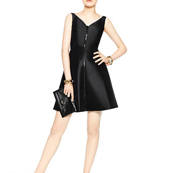 Kate Spade Zip Up Dress Black