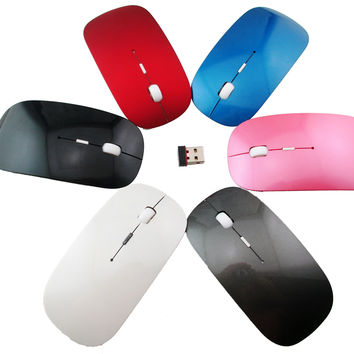 Universal Slim Wireless Optical Mouse