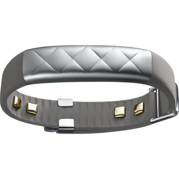 Jawbone - UP3 Activity Tracker with Resting Heart Rate Monitor - Silver