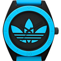 adidas Originals 'Santiago XL' Neon Accent Watch, 50mm | Nordstrom