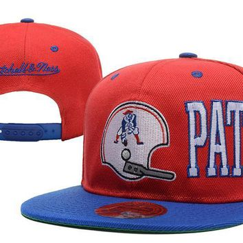 PEAPON New England Patriots Snapback NFL Football Hat M&N