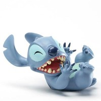 Enesco Disney Showcase Laugh with Stitch Figurine, 1-3/4-Inch