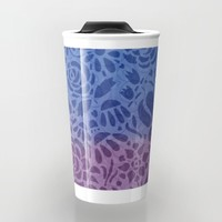 Watercolor Nature Travel Mug by Noonday Design