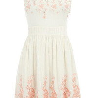 Oasis Shop | Cream Izabella Dress | Womens Fashion Clothing | Oasis Stores UK
