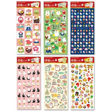 DIY Congratulations on your new year chicken Stickers Diary Planner Journal Note Diary Paper Scrapbooking Albums PhotoTag