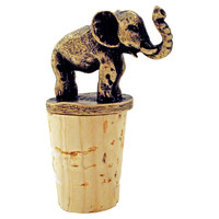 Elephant Bottle Stopper, Bottle Stoppers