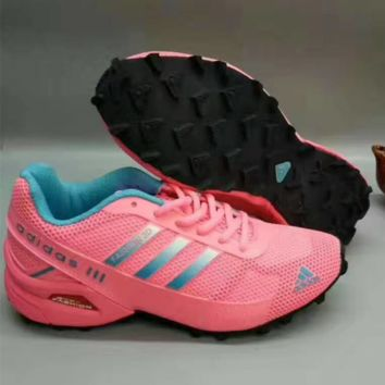 """ADIDAS"" Women  Trending Fashion Casual Sports Shoes Pink"