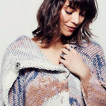 Free People Dreamy Fields Sweater