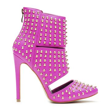 STUD PASSION TRIBAL BOOTIE - PINK