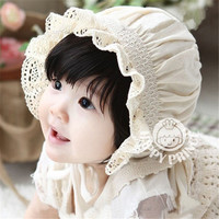 Newborn Baby Girls Cotton Hats Sun Cap Bonnet Infants Toddler Beanies 0-8 Month