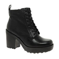 Vagabond Libby Platform Lace Up Ankle Boots at asos.com