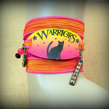 Warrior Cats Bracelet - Wrap Bracelet - Warrior Cats Jewelry - Summer Bracelet - Summer Jewelry - Book Series - Fan - Young Reader