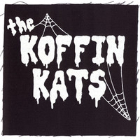 Koffin Kats Men's Web Logo Cloth Patch Black