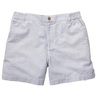The Seersucker Short in Navy by Southern Proper