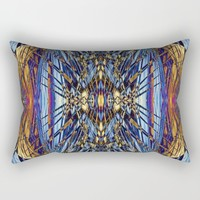 Abstract Nature Pattern Serie1b Rectangular Pillow by Infloence
