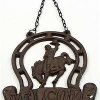 Cast Iron Horseshoe Hanging
