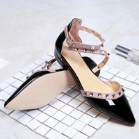 Valentino Women Fashion Casual High Heels Shoes Sandals Shoes