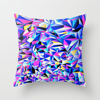 Pink & Blue No. 1 Throw Pillow by House of Jennifer | Society6