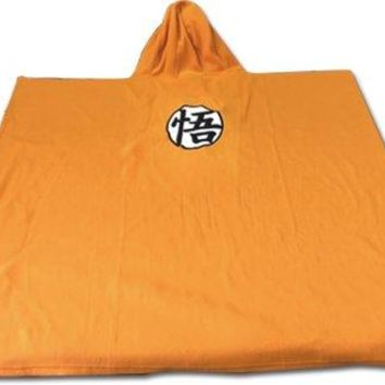 Great Eastern Entertainment Dragon Ball Z Symbol Hoodie Blanket